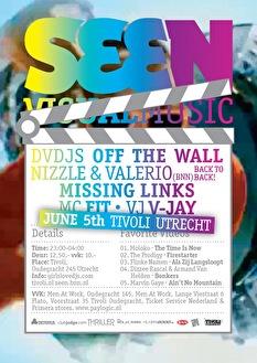 Seen Visual Music (flyer)