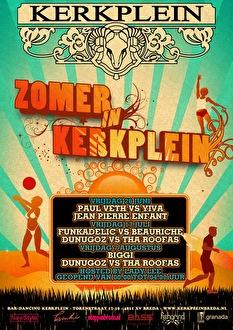 Zomer in Kerkplein (flyer)