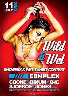 Wild & Wet (flyer)