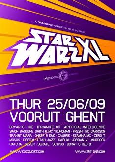 Starwarz XL (flyer)