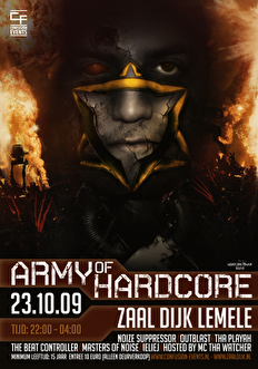 Army of Hardcore (flyer)