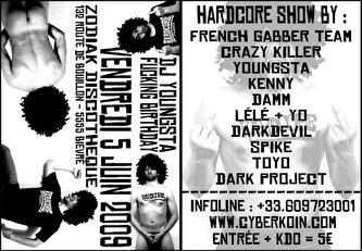 dj youngsta fucking birthday (flyer)