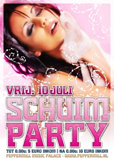Schuimparty (flyer)
