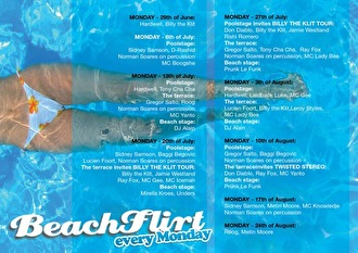 Beachflirt (flyer)
