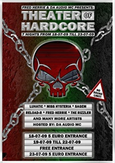 Theater of Hardcore (flyer)