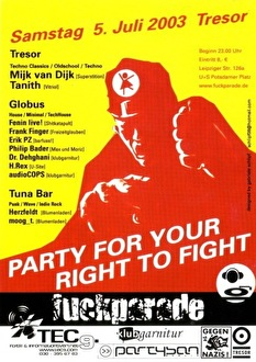 Party For Your Right To Fight (flyer)