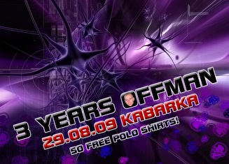 3 Years Offman (flyer)