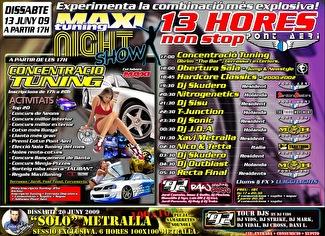 13 Horas non stop (flyer)
