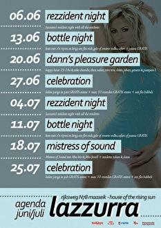 Rezzident Night (flyer)