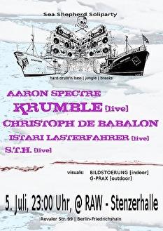 Sea Shepherd Soliparty (flyer)