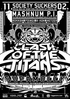 Clash Of The Titans (flyer)