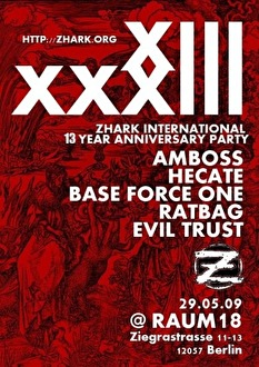 Zhark International XIII (flyer)