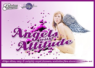 Angels with attitude (flyer)
