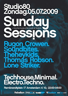 Sunday Sessions (flyer)