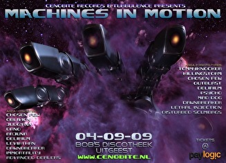 Machines in motion (flyer)