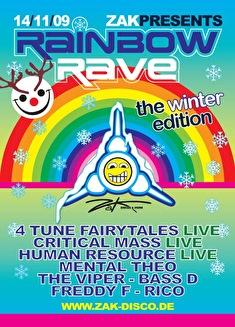 Rainbow Rave (flyer)
