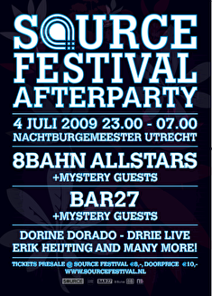 Source Festival afterparty (flyer)