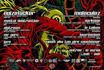 Heart Of Speedcore (flyer)