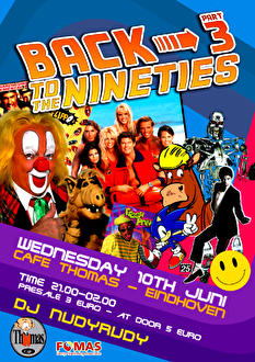 Back to the Nineties (flyer)