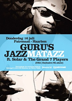 Guru's Jazzmatazz (flyer)