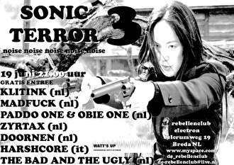 Sonic Terror 3 (flyer)