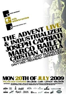 10 Years MB Elektronics Recordings (flyer)
