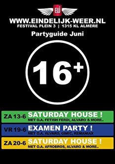 Saturday House (flyer)