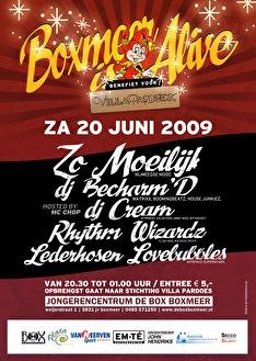 Boxmeer Alive (flyer)