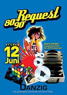 80's & 90's Request (flyer)