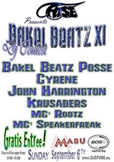 Bakel Beatz XI (flyer)