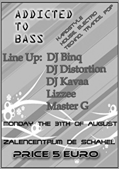 Addicted To Bass (flyer)
