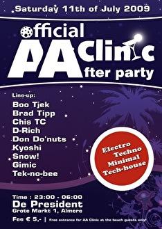 AA Clinic (flyer)