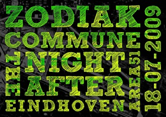 Zodiak Commune The Night After (flyer)