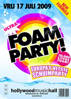 Foamparty! (flyer)