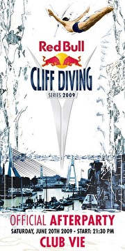 Cliff Diving Official Afterparty (flyer)