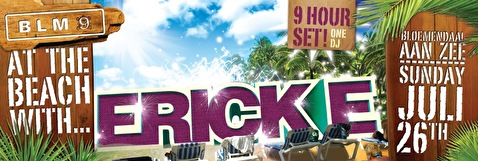 At The Beach With Erick E Solo (flyer)