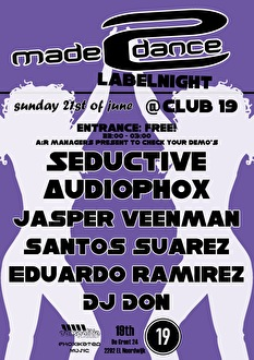 Made2Dance Label Night (flyer)