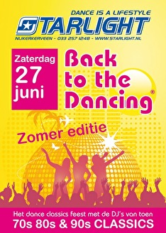 Back to the dancing (flyer)