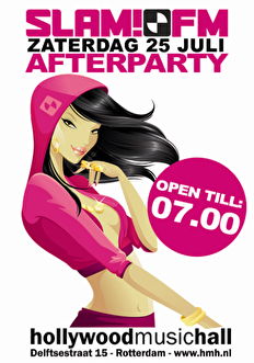 Slam!FM After Party (flyer)
