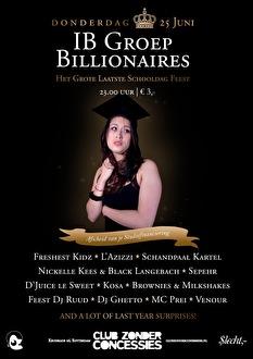 IB Groep Billionaires (flyer)