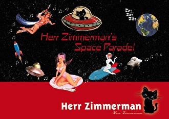Herr Zimmerman's Space Parade (flyer)