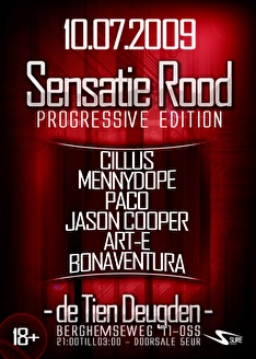 Sensatie Rood (flyer)