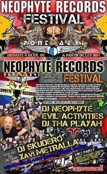 Neophyte records festival (flyer)
