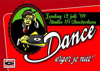 Dance Erger Je Niet! (flyer)
