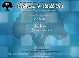 Getaway & Chill out Sessions (flyer)