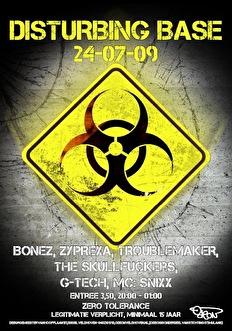 Disturbing Base (flyer)