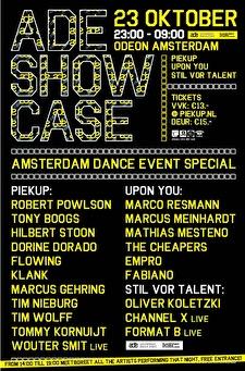 ADE Showcase (flyer)