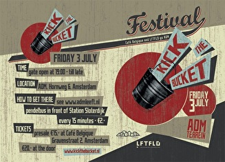 Kick the bucket Festival (flyer)