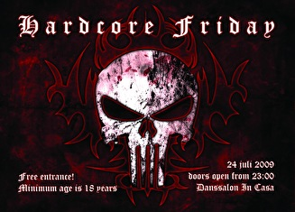 Hardcore Friday (flyer)