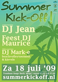 Summer Kick-Off (flyer)